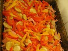 Pizza z mielonym i warzywami