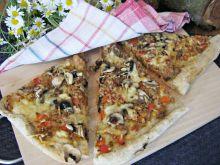 Pizza z mielonym mięsem