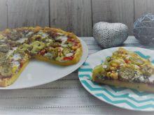 Pizza z ogórkiem kiszonym (bezglutenowa)