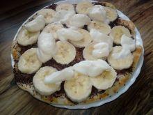 Pizza z patelni na słodko