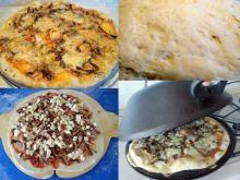 Pizza z pieczarkami.