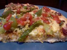 Pizza z serem Korycińskim