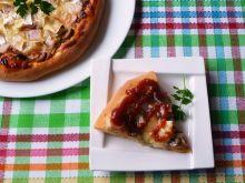 Pizza z serem pleśniowym