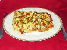Pizza z sosem curry