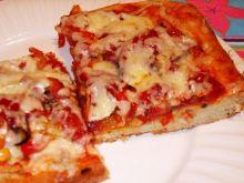 Pizza z szynka