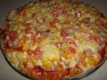 Pizza (z tego co było w lodówce)