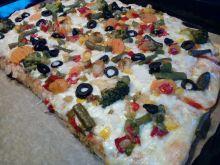Pizza z warzywami (bezmięsna)