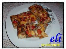 Pizza ziołowa Eli z pieczarkami