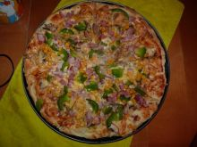 pizzza z szynką