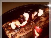Placek hiszpański z jabłkami