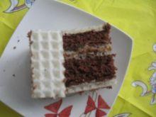 placek kakaowo-orzechowy w waflach