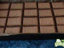 Placek kakaowy z manną