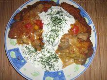 Placek po Węgiersku z tsadsykaki
