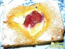 Placek z brzoskwiniami wg Marta1986