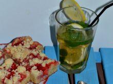 Placek z truskawkami i kruszonką