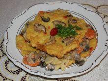 Placek ziemniaczany z grzybami