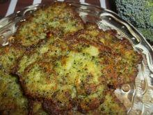 Placki brokułowo - ziemniaczane
