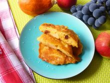 Placki dyniowe z jabłkami