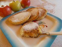 Placki ryżowe z cynamonem i jabłkami