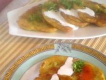 Placki tajskie z kukurydzą i groszkie