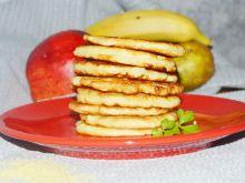 Placki z jabłkami i kaszą kuskus