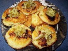 Placki z ziemniaków z grzybami