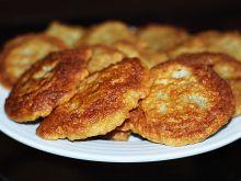 Placki ziemniaczane z dodatkiem mąki krupczatki
