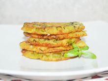 Placki ziemniaczane z fasolką szparagową i koprem