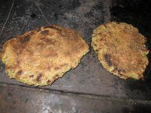 Placki ziemniaczane z kuchennej blachy