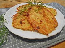 Placki ziemniaczane z odrobiną cebuli