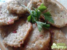 Placki ziemniaczane z papryką i serem