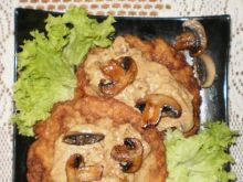 Placki ziemniaczane z pieczarkami
