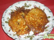 Placki ziemniaczane z serem i boczkiem