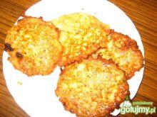 Placki ziemniaczane z serem żółtym