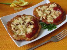 Placki ziemniaczane zapiekane z kurczakiem i serem