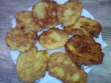 Placki ziemniaczano-cukiniowe z serem żółtym