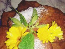 Placuszki bananowo marchewkowe z truskawkami