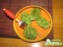 Placuszki brokułowe