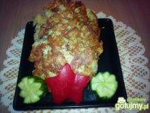 Placuszki chlebowe z dodatkiem sera żółt