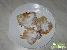 Placuszki jabłkowe z kaszą manną
