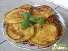 Placuszki serowe z dynią i rodzynkami