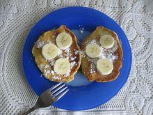 Placuszki z bananami