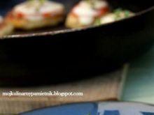 Placuszki z ciasta kluskowego zapiekane