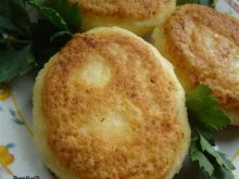 Placuszki z ciasta na kluski śląskie