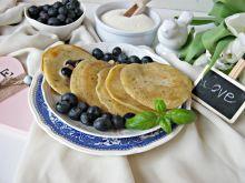 Placuszki z kaszy manny z nasionami chia