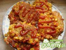 Placuszki z kukurydzą i papryką