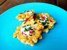 Placuszki z kukurydzy z chilli