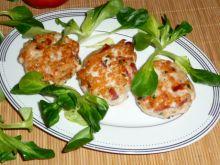 Placuszki z kurczaka i szynki