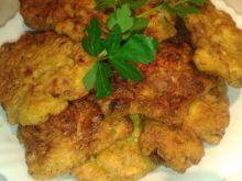 Placuszki z kurczaka z warzywami