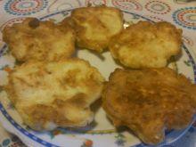 Placuszki z kurczaka z żółtym serem